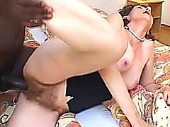 Mature Mama Plays With Herself and Gets BBC / Andrea,