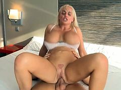 Jordan Pryce will keep you glued to the screen in this video as she flaunts her huge tits and takes big hard cock in all positions hard and deep. Check this out and enjoy!