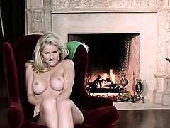 Ainsley Addison bares all on camera in solo action