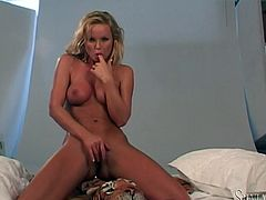 It's not just a damn porn video! It's an art of solo performance and the master of this branch of porn Siliva Saint will expose her treasures.