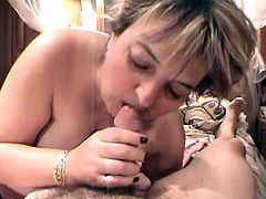 Press play and watch this mature couple trying to maintain their sexiness by fucking like two famous porn stars. You'll be surprised to see what they do!