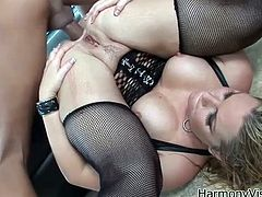 Milf has lost her sensuality in her pussy and only way she can reach orgasm is an anal sex. So, honey grabs that dick and it's going to make her stun so hard.