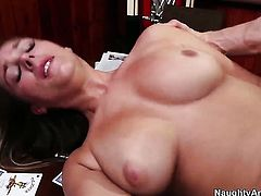 Ella Milano shows her slutty side to hard cocked bang buddy Bill Bailey