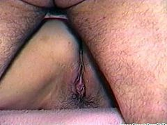 Check out this BBW slut coming straight from a vintage classice. She received some hardcore banging in her pussy and wants to cum hard on his meaty cock for you.