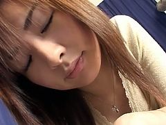 Watch this hot and sexy amateur Japanese babe in this hot video, where she shows you her cock sucking skills on a plastic dildo.So sit back and jerk along on this hot babe oral skills.She knows how to make you cum!