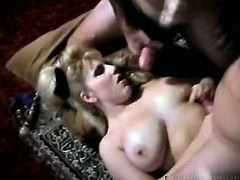 Wide mouthed light head chubby lady of evening rests on floor and thirsts for mouth fuck. Kinky studs didn't let her wait even a minute and powerfully pounded that eating hole. Watch this group fuck in The Classic Porn sex clip!