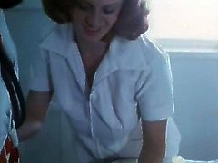 This sex-starved patient is sick and tired of her doctor's excuses. She wants to feel the taste of his cock and this time she isn't taking no for an answer. She sucks his swollen dick passionately like a dirty whore.