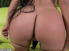 Angelica Heart is a super hot big titted chick with amazing body. She is ready for some hardcore action and uses her favorite dildo to experience a deep orgasm!