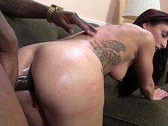 Hot MILF Mischa Brooks Gets Anal Fucked By Her Black Friend