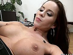 David Perry bangs Cindy Dollar as hard as possible in anal sex action