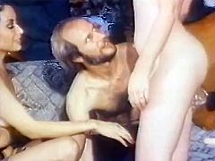 Leg spread blond head rapacious bitchy hoe received powerful penetration of massive bonker into her loose saggy button hole in missionary pose. Watch this hard anal fuck in The Classic Porn sex clip!