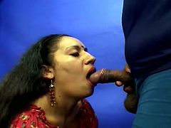 Prepare yourself for this amateur video where an Indian girl, with natural tits, is getting her fur ball banged hard! Don't miss their jizz on her face!