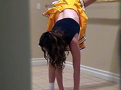 Cute Cheerleader With Nice Natural Tits Gets Fucked