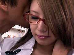 Small tits fuck thirsting Asian bitchy harlot got her titties licked and her smelly booty hole properly rimmed from behind. Watch this Asian bitch in Jav HD porn clip!
