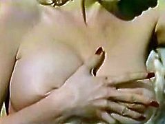 This lustful blondie needs a good pussy workout. Horny stud pounds her fanny in missionary position. Then she decides to take control of her own orgasm. She climbs on top of him and rides him like a cowgirl on a bucking bronco.
