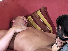 Have a loo k at this hot scene where these ladies give you a boner as you watch them sucking cock in compilation video.