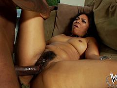 Big bottomed ebony slut Anita Peida gets fucked by Jon Jon