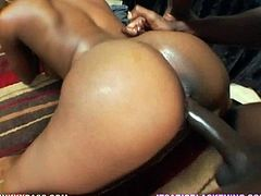 Make sure you have a look at this hardcore scene where the smoking hot ebony mom Vida Valentine takes a on a black monster cock.