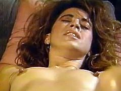 Long haired big boobs hot blooded babe energetically drills her brown haired fuck thirsting saucy babe with massive blow stick. Watch this lesbo masturbation in The Classic Porn sex clip!