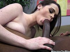 Tessa Lane is nailed by a big black cock