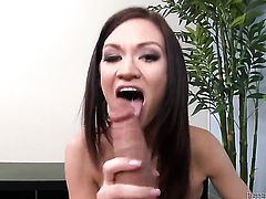 Kendall Karson and her hard dicked fuck buddy Will Powers are in the mood for oral sex