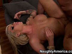 Evan Stone cant wait any longer to stuff his love wand in extremely horny Brooke Havens wet hole
