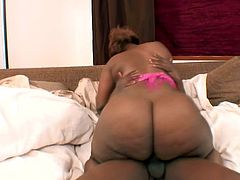 Lustful BBW sucks big black cock and gets her vagina licked. Later on she gets fucked rough from behind. She enjoys a lot because not so many people want to fuck her.