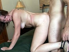 Stunning hottie plays quite nasty in amazing hardcore porn session