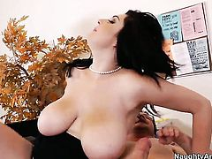 Beverly Paige has great sexual experience and expands it with hot dude Dane Cross