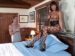 This is a damn outstanding porn video with the loved and desired porn star Ava Devine! She loves it big and a big one is making her moan so loud!
