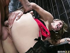 Johnny Sins gets seduced into fucking by Tanya Tate