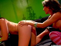 Gorgeous lesbo bitches Capri Cavali And Jaiden James please each other dirty way