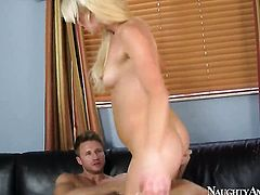 Zoey Paige with firm ass and trimmed bush gets down and nasty in steamy action with Levi Cash