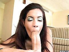 Chachita Isis Taylor with big bottom gets down and dirty in cum flying action
