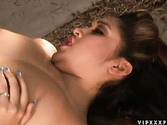 Redhead Nautica Thorn enjoys the warmth of hard dick deep in her slit in interracial sex action