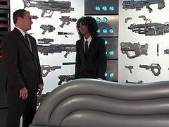 Misty Stone in Weird Government Lab with Alien Sex Toys!