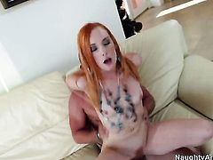 Mick Blue plays with soaking wet snatch of Dani Jensen before he bangs her hard