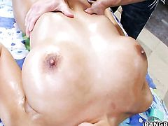 Luna Star with bubbly ass loses control in sexual frenzy