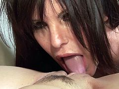 Hot milfs are in for real pleasure during top lesbian masturbation porn show