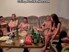 This group sex party organized by kinky and insatiable Czech students is incredibly crazy. Hardcore cocksuck, dick riding, and asshole fuck -everything is included. Take a look at this Czech freaks in WTF Pass porn clip!
