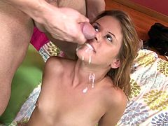 "Check out this awesome compilation of scenes featuring none other than the ""money shot"" that moment we're all waiting for where the chick gets the load in her mouth!"