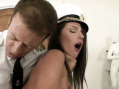 Rocco Siffredi wants to bang charming Milla As bottom forever