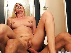 Alan Stafford is horny and cant wait any longer to fuck Darryl Hanah