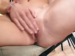 Kayden Kross cant stop fingering her love box
