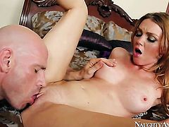 Johnny Sins attacks perfect bodied Marie McCrayS love tunnel with his love torpedo