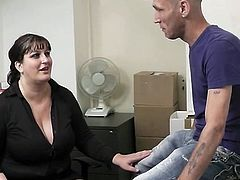 See her huge bust bounce during xxx