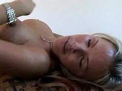 Anilos brings you a hell of a free porn video where you can see how the alluring blonde milf Kayla Synz masturbates and gets fucked hard into a huge orgasm.