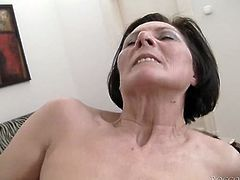 Full breasted hot blooded rapacious milfs got their old smelly eating holes properly drilled by honeyed pecker of one horny fellow. Watch those old whores in Fame Digital porn clip!