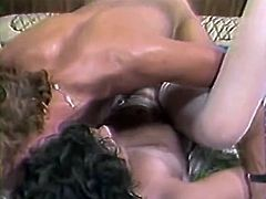 Bunch of sexually abused slutty hussies and freaky dudes gathered to present powerful fuck to each other. This meeting was hot enough. Watch this crazy orgy fuck in The Classic Porn sex clip!