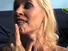 This horny and naughty cougar meet on street her son black friend and brings him home to nail her cock starving clam. Watch this interracial sex.